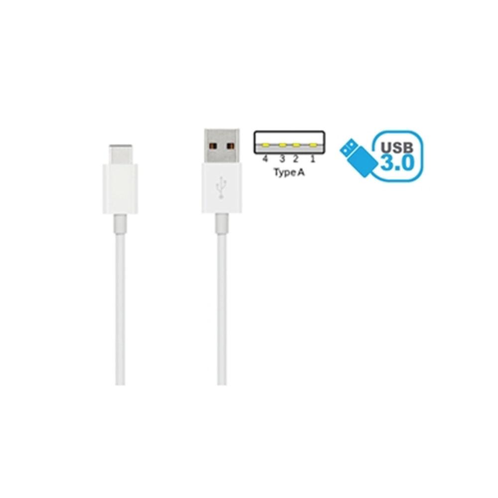 Immagine di CAVO USB 3.0 TYPE-CM A TYPE-AM 1METRO BIANCO