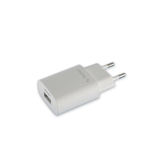 Image de ALIMENTATORE USB RETE ELETTRIC 1USB 1000 MHA BIANCO