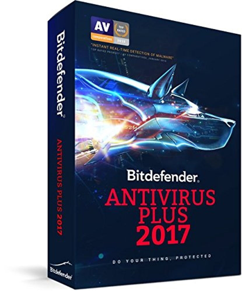 Immagine di ANTIVIRUS BITDEFENDER PLUS 2017 1PC 1ANNO