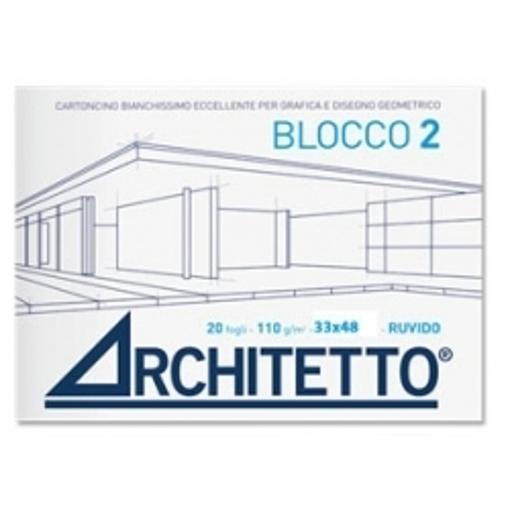 Image de ALBUM ARCHITETTO 24X33 CM 20FG 110GR RUVIDO