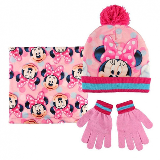 Image de SET CAPPELLO SCALDACOLLO GUANTI MINNIE MOUSE