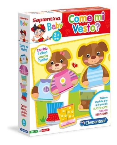 Image de COME MI VESTO? CLEMENTONI SAPIENTINO BABY