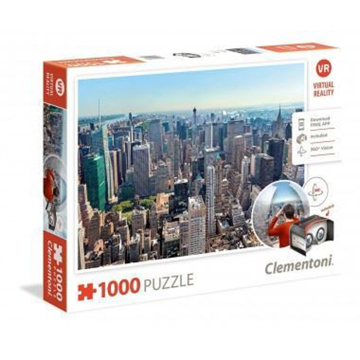 Image de PUZZLE CLEMENTONI VIRTUAL REALITY NEW YORK 1000 PEZZI