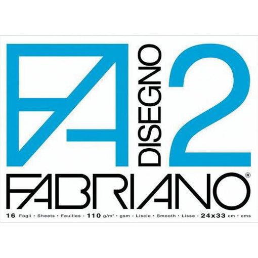 Immagine di ALBUM FABRIANO 33X48 F2 RUVIDO GRAMMATURA 110gr/m2, 12 FOGLI