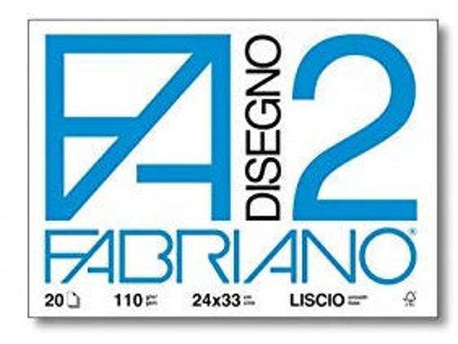 Image de ALBUM FABRIANO 24X33 F2 LISCIO FOGLI STACCABILI FG.20