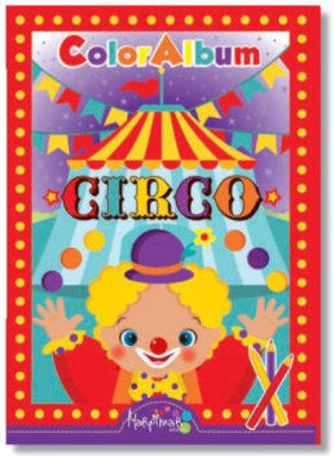 Image de ALBUM DA COLORARE CIRCO MARPIMAR