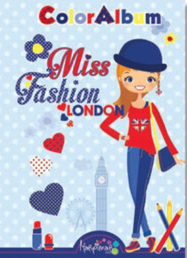 Image de ALBUM DA COLORARE MISS FASHION LONDON MARPIMAR