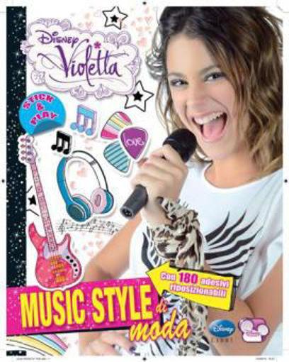 Image de MUSIC STYLE DI MODA CON ADESIVI EDIZ. ILLUSTRATA